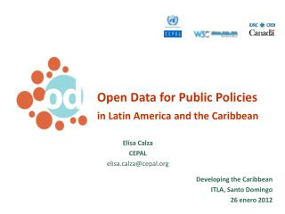 Open Data for Public Policies  in Latin America and the Caribbean