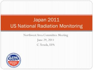 Japan 2011 US National Radiation Monitoring