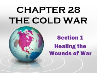 CHAPTER 28  THE COLD WAR