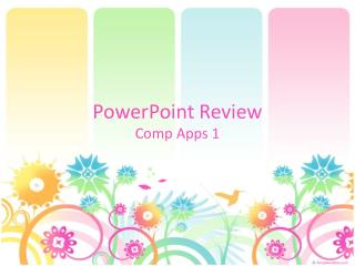 PowerPoint  Review