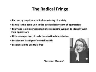 The Radical Fringe
