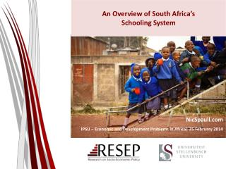 An Overview of South Africa�s  Schooling System