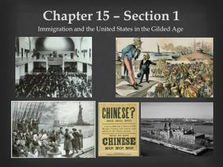 Chapter 15 � Section 1