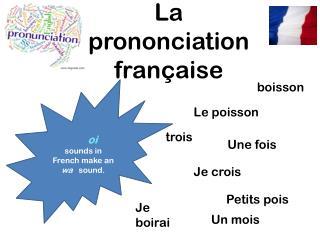 La  prononciation f rançaise