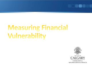 Measuring Financial Vulnerability