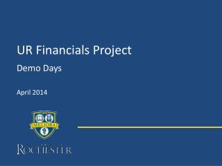 UR Financials Project