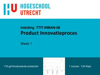Inleiding   TTIT-INMAN-08 Product Innovatieproces Week 1