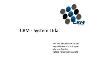 CRM - System Ltda.