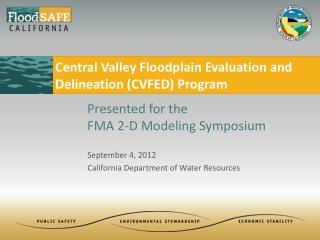 September 4, 2012 California Department of Water Resources