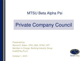 MTSU Beta Alpha Psi