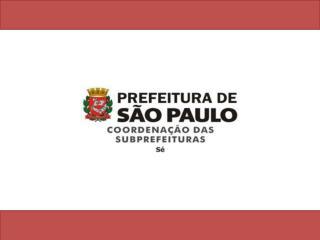 A Subprefeitura Sé foi criada em 1973