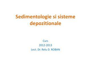 Sedimentologie si sisteme depozitionale