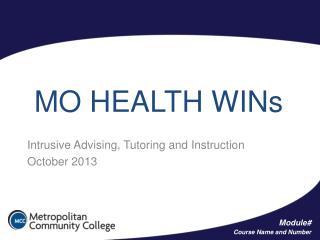 MO HEALTH WINs