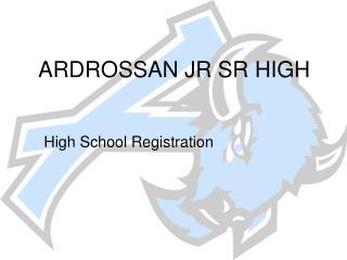 ARDROSSAN JR SR HIGH