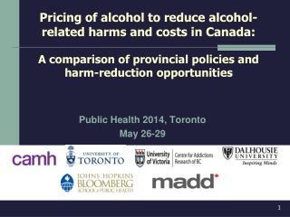 Public Health 2014, Toronto May 26-29