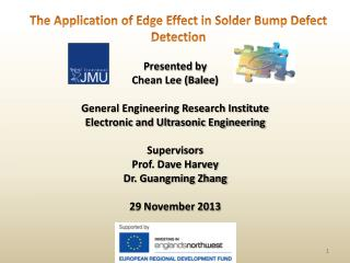 Presented by Chean Lee ( Balee ) General Engineering Research Institute