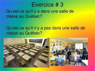Exercice  #  3