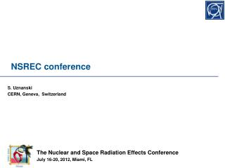 NSREC conference