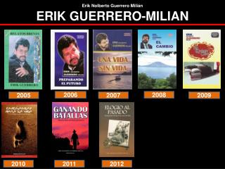 Erik Nolberto Guerrero Milián ERIK GUERRERO-MILIAN