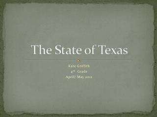 The State of Texas