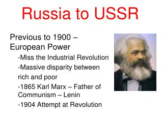 Russia to USSR