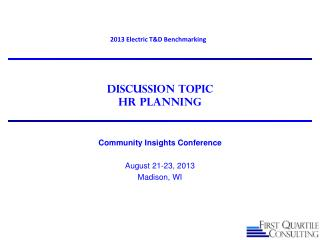 Discussion Topic HR Planning