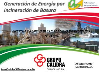 Generación de Energía por Incineración de Basura
