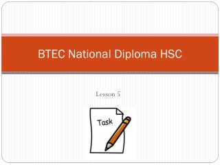 BTEC National Diploma HSC