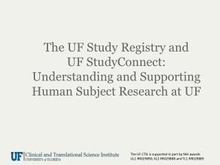 Study  Registry