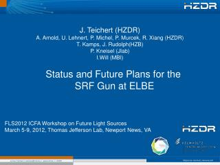 Status and Future Plans for the  SRF Gun at ELBE