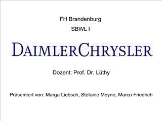 DaimlerChrysler Pr