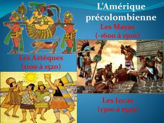 Les Mayas (-1600 à 1500)