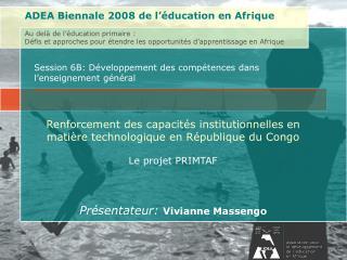 Session 6B: Développement des compétences dans l'enseignement général
