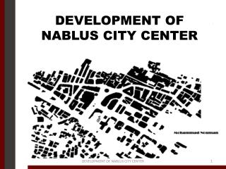 DEVELOPMENT OF NABLUS CITY CENTER
