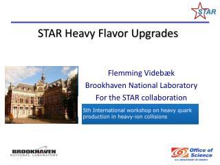 STAR Heavy Flavor Upgrades