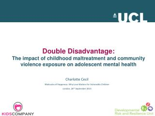 Charlotte Cecil Molecules of Happiness: Why Love Matters for Vulnerable Children