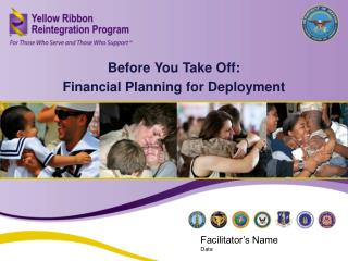 Before You Take Off:  Financial Planning for Deployment