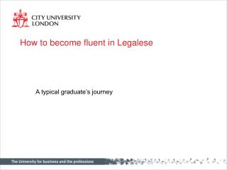 How to become fluent in Legalese