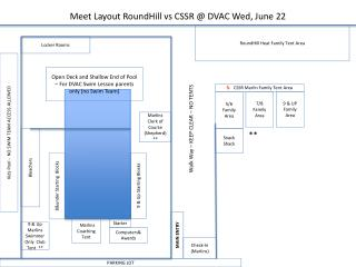 Meet Layout RoundHill vs CSSR @ DVAC  Wed,  June 22