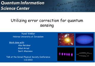 Utilizing error correction for quantum sensing