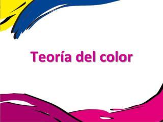 Teor ía del color
