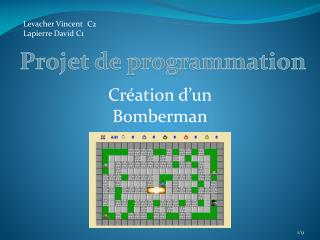 Projet de programmation