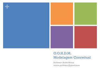 O.O.H.D.M . Modelagem Conceitual