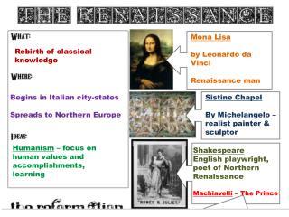 Rebirth of classical knowledge