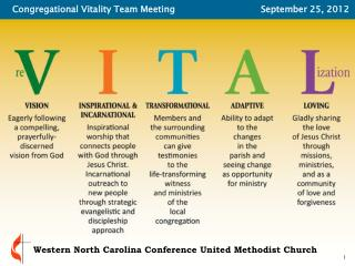 Congregational Vitality team approach