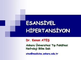 ESANSIYEL HIPERTANSIYON