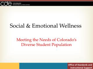 Social & Emotional Wellness
