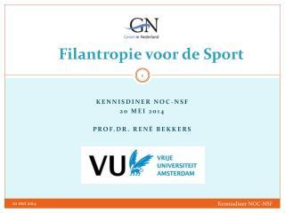 Filantropie voor de Sport