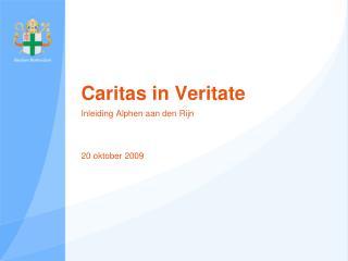 Caritas in Veritate