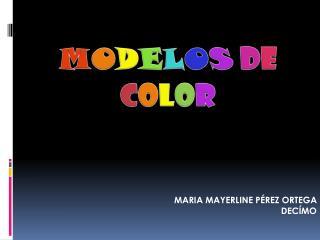 MARIA MAYERLINE PÉREZ  ORTEGA  DECÍMO